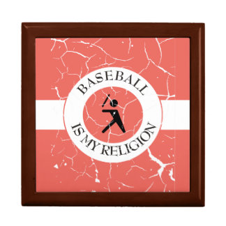 BASEBALL IS MY RELIGION GIFT BOX