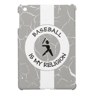 BASEBALL IS MY RELIGION iPad MINI CASE