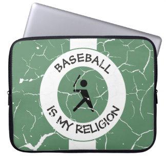 BASEBALL ISMY RELIGION LAPTOP SLEEVE
