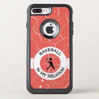 BASEBALL ISMY RELIGION OtterBox COMMUTER iPhone 8 PLUS/7 PLUS CASE