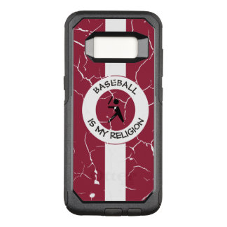 BASEBALL IS MY RELIGION OtterBox COMMUTER SAMSUNG GALAXY S8 CASE