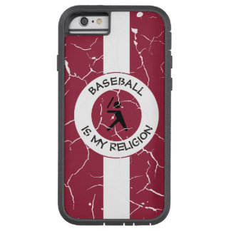 BASEBALL IS MY RELIGION TOUGH XTREME iPhone 6 CASE