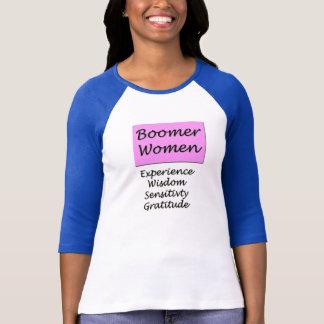 Baseball Jersey for Baby Boomer Women T-Shirt