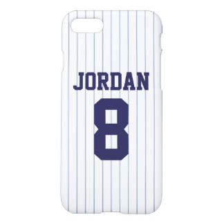 Baseball Jersey with Number iPhone 8/7 Case