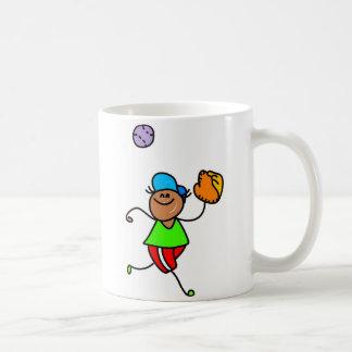 Baseball Kid Basic White Mug