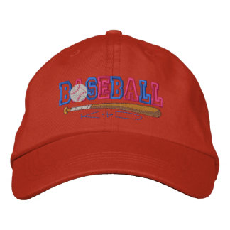 Baseball Kid Embroidered Cap