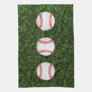 Baseball kitchen towel