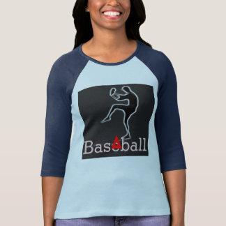 Baseball Ladies 3/4 Sleeve Raglan (Fitted) Tee Shirt