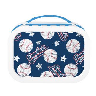 Baseball league lunch box