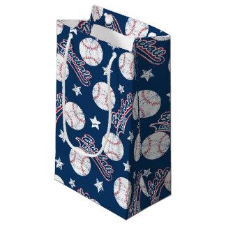 Baseball league small gift bag