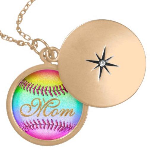 Baseball Locket for Moms