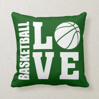 Baseball Love Green Cushion