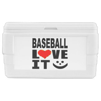 Baseball Love It Ice Chest