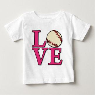 Baseball LOVE, melon Baby T-Shirt