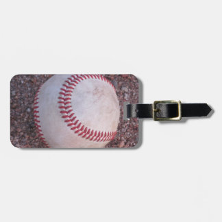 Baseball Luggage Tag