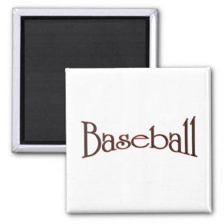 Baseball Refrigerator Magnet
