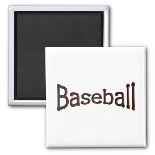 Baseball Refrigerator Magnets