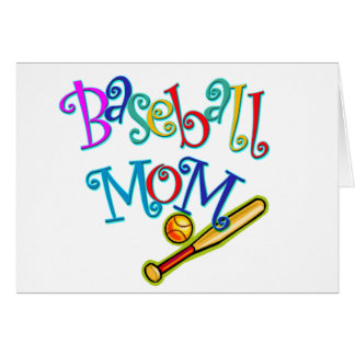 Baseball Mom Card