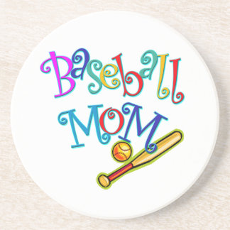 Baseball Mom Drink Coaster