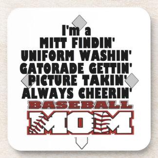 Baseball Mom Coaster