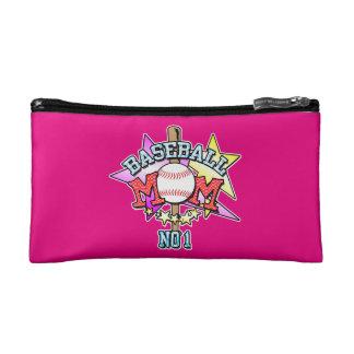 Baseball Mom Cosmetic Bag