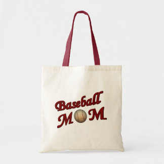 Baseball Mom Cute Tote Bag