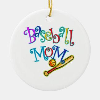 Baseball Mom Christmas Tree Ornaments