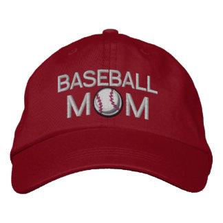 Baseball Mom Embroidered Hat