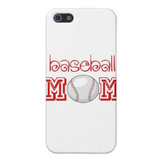 Baseball Mom iPhone 5 Cover