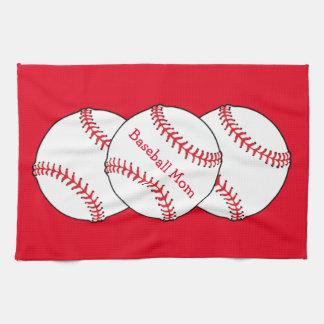 Baseball Mom Kitchen Towel