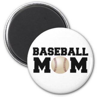 Baseball Mom Refrigerator Magnets