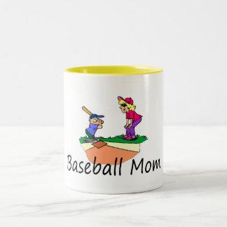 Baseball Mom Coffee Mugs