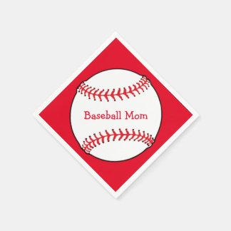Baseball Mom Paper Napkin