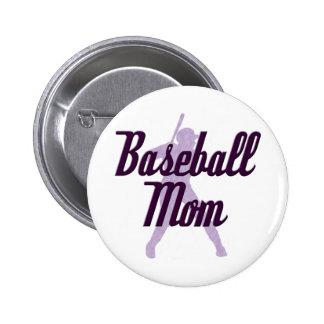 Baseball Mom Pin