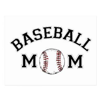 Baseball Mom Post Card