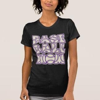 Baseball MOM, purple2 Tshirt