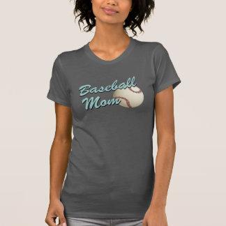 Baseball Mom Retro T Shirt