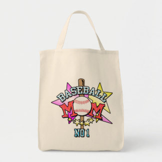 Baseball Mom Shopping Bag