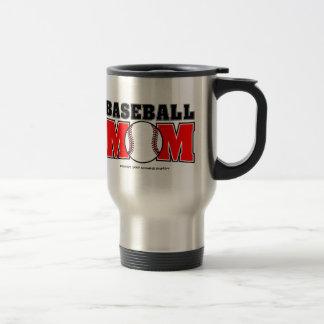 Baseball Mom Stainless Steel Travel Mug