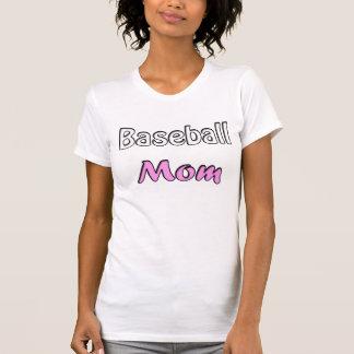 Baseball Mom T Shirts
