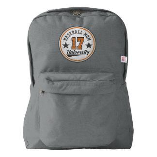 Baseball Mom University Backpack