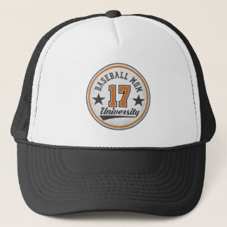Baseball Mom University Trucker Hat