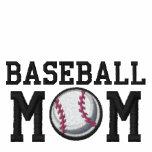Baseball Mum Embroidered Hoodie