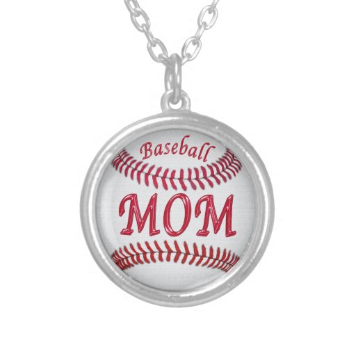 Baseball Necklaces for Moms