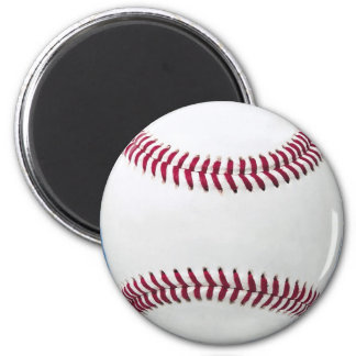 Baseball on blue magnets
