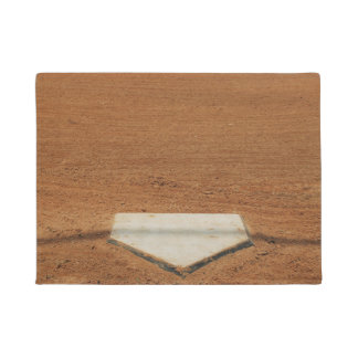 Baseball or Softball Home Plate Door Mat