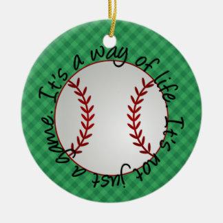 Baseball Ornament - SRF