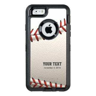 Baseball OtterBox Defender iPhone Case