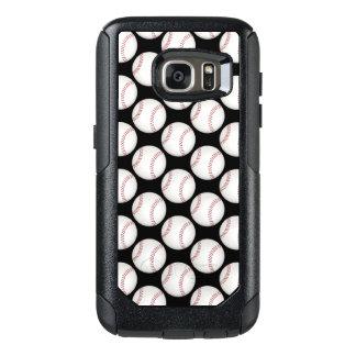 Baseball Pattern   Cool Sport Gifts OtterBox Samsung Galaxy S7 Case
