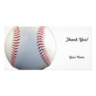 Baseball Personalised Photo Card
